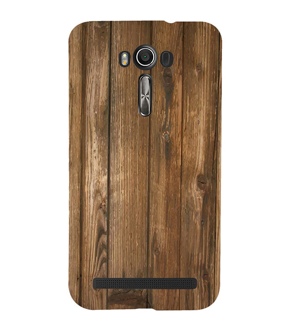 Wooden Pattern Back Cover for Asus Zenfone 2 Laser ZE550KL