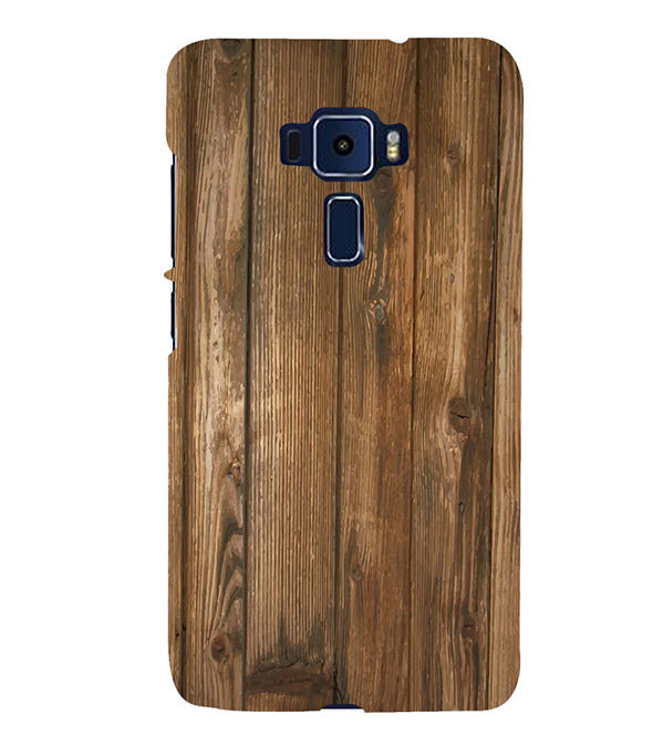 Wooden Pattern Back Cover for Asus Zenfone 3 Deluxe ZS570KL