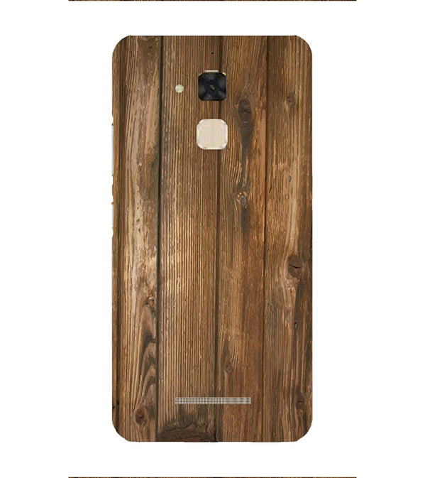 Wooden Pattern Back Cover for Asus Zenfone 3 Max ZC520TL