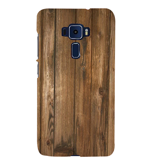 Wooden Pattern Back Cover for Asus Zenfone 3 ZE520KL