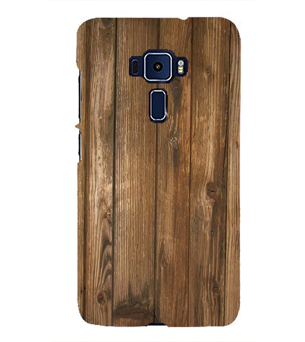 Wooden Pattern Back Cover for Asus Zenfone 3 ZE552KL