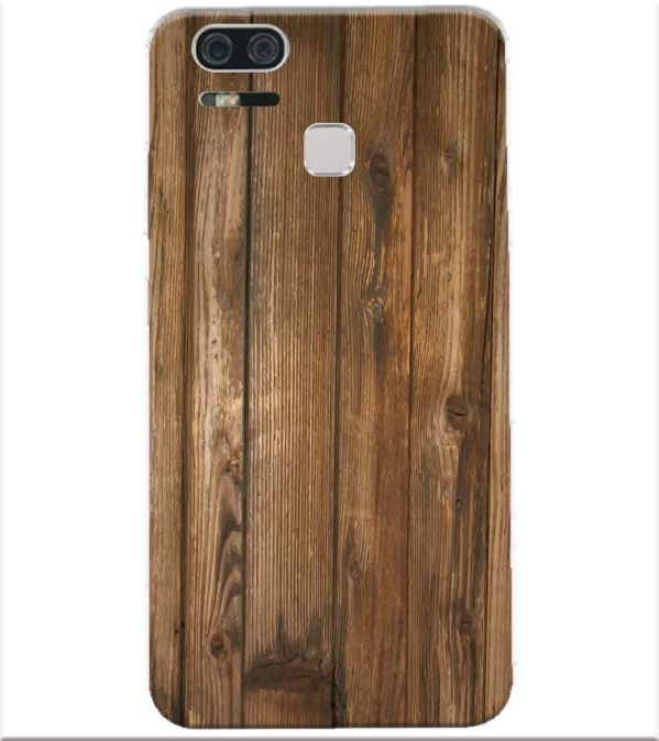 more photos 10a73 c78fe Wooden Pattern Back Cover for Asus Zenfone 3 Zoom ZE553KL