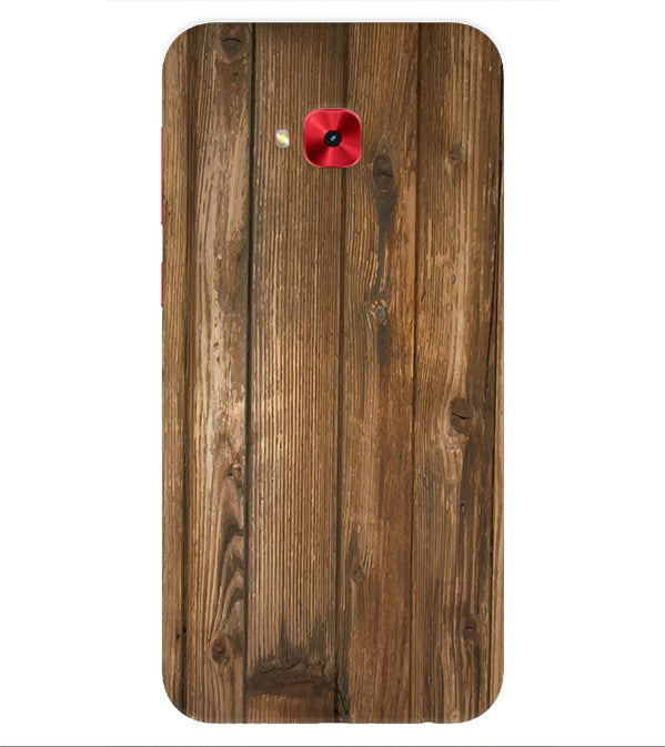 Wooden Pattern Back Cover for Asus Zenfone 4 Selfie