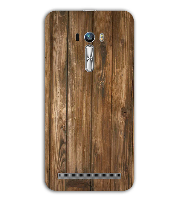 Wooden Pattern Back Cover for Asus Zenfone Selfie