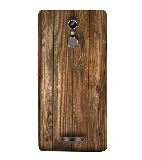 Wooden Pattern Back Cover for Gionee Elife S6S