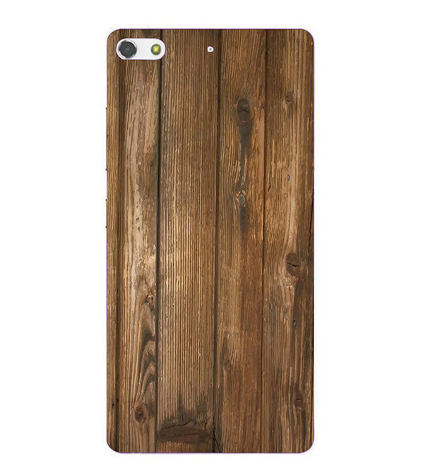 Wooden Pattern Back Cover for Gionee Elife S7
