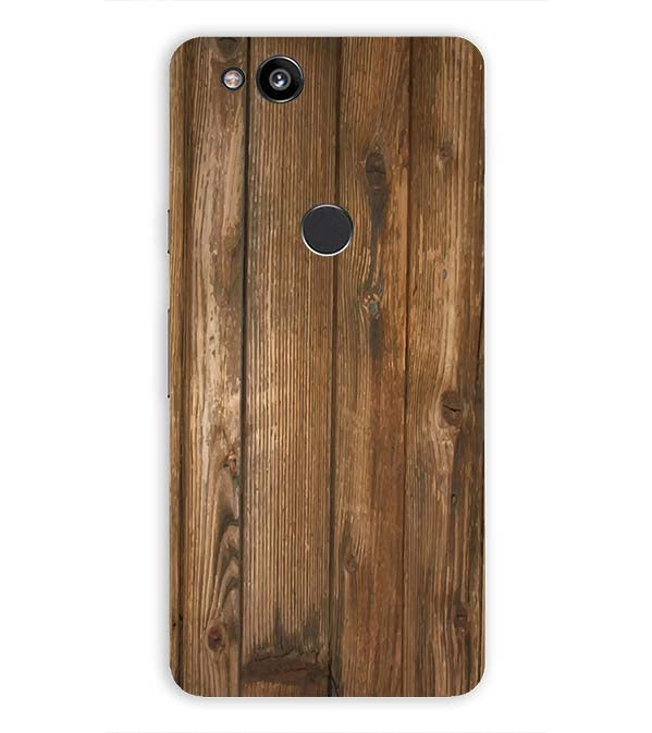 Wooden Pattern Back Cover for Google Pixel 2 (5 Inch Screen)