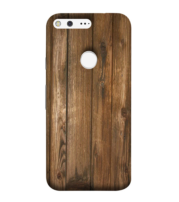 Wooden Pattern Back Cover for Google Pixel