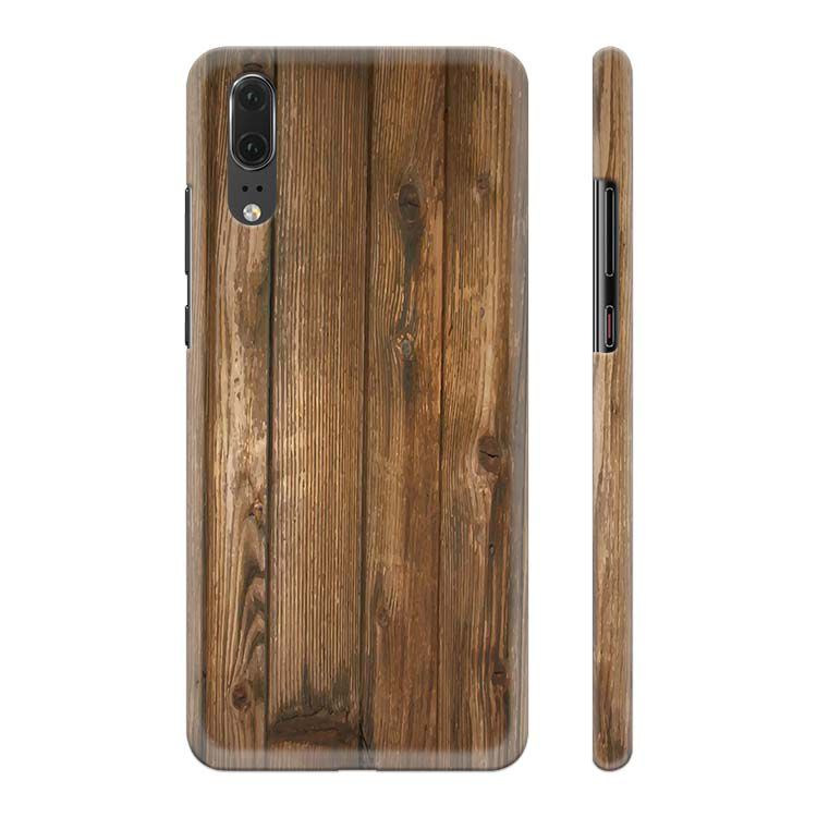 Wooden Pattern Back Cover for Huawei P20