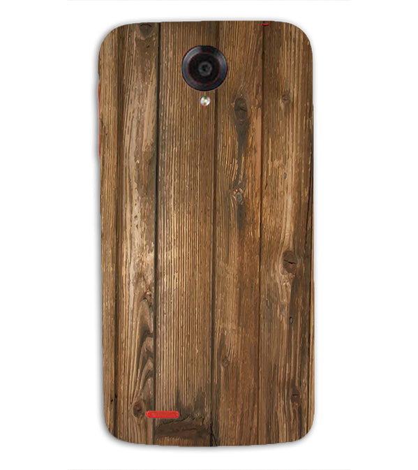 Wooden Pattern Back Cover for Lenovo S820