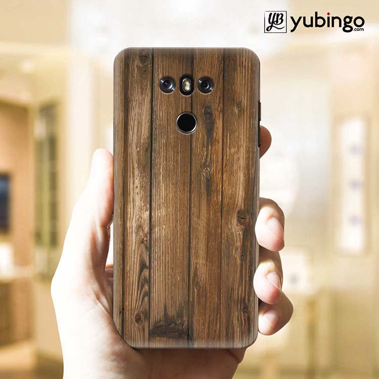 Wooden Pattern Back Cover for LG G6