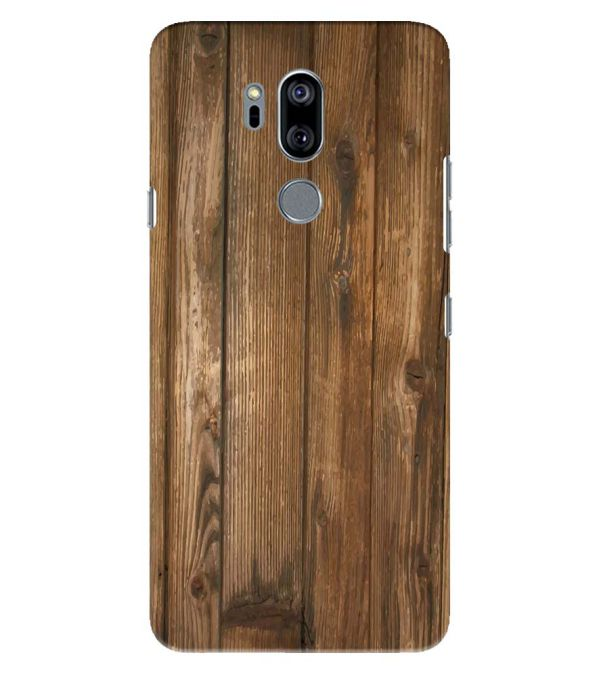 Wooden Pattern Back Cover for LG G7