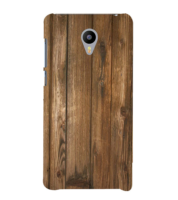 Wooden Pattern Back Cover for Meizu M3 Note