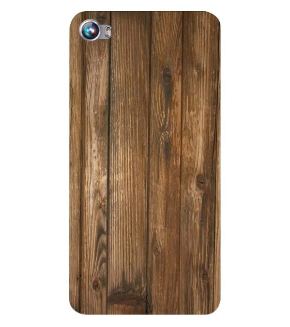 Wooden Pattern Back Cover for Micromax Canvas Fire 4 A107