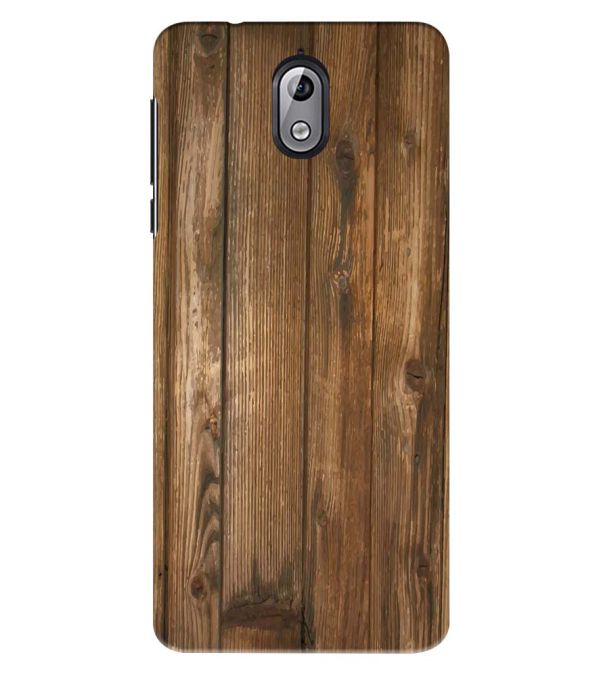 Wooden Pattern Back Cover for Nokia 3.1 (2018)
