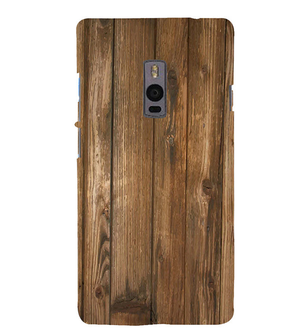 quality design cb22c 9738e Wooden Pattern Back Cover for OnePlus 2