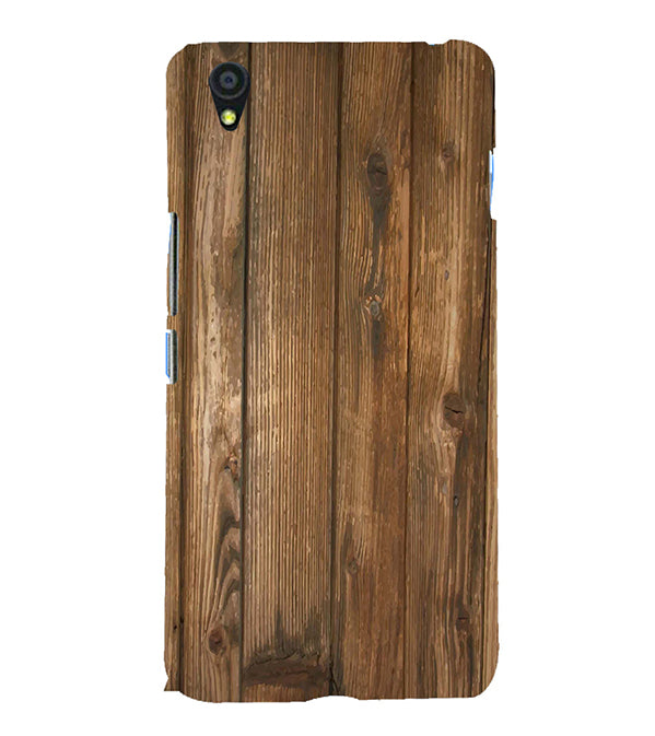 Wooden Pattern Back Cover for OnePlus X