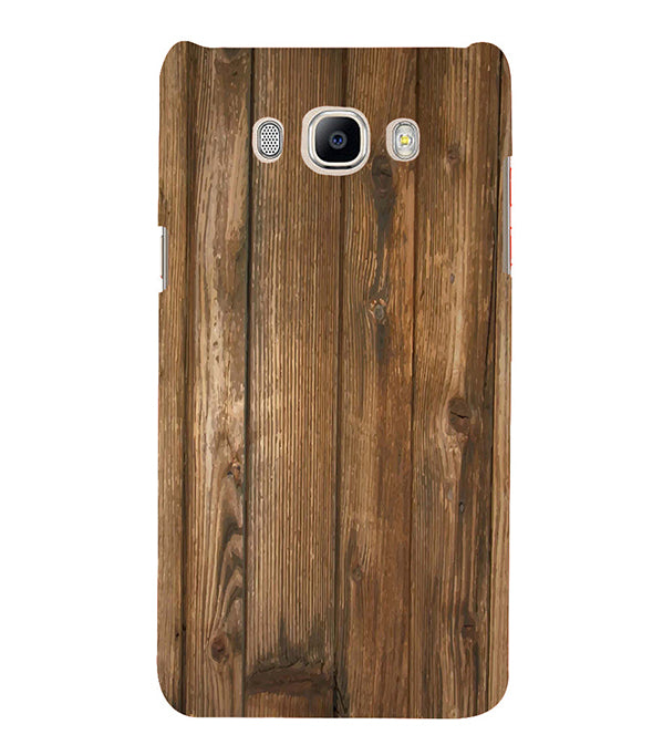 buy online 4e163 bf5c0 Wooden Pattern Back Cover for Samsung Galaxy J5 (6) 2016