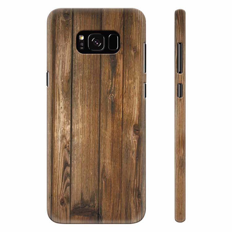 Wooden Pattern Back Cover for Samsung Galaxy S8 Plus