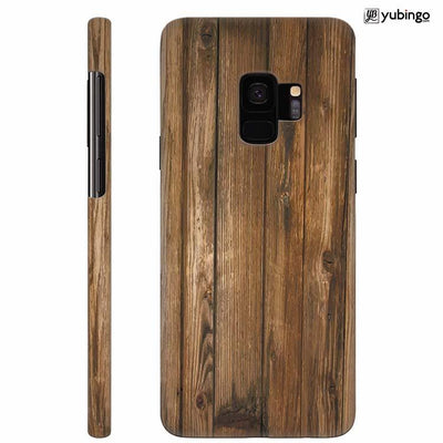 Wooden Pattern Back Cover for Samsung Galaxy S9