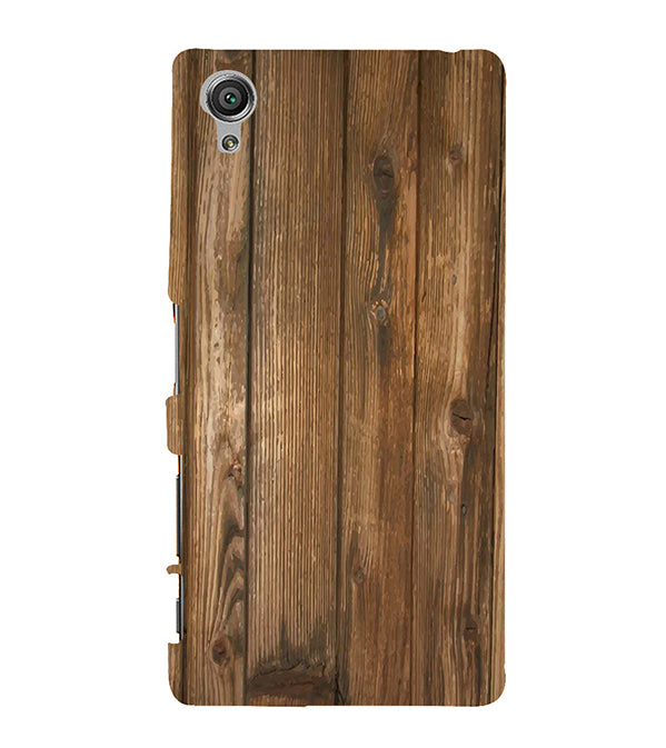 Wooden Pattern Back Cover for Sony Xperia X