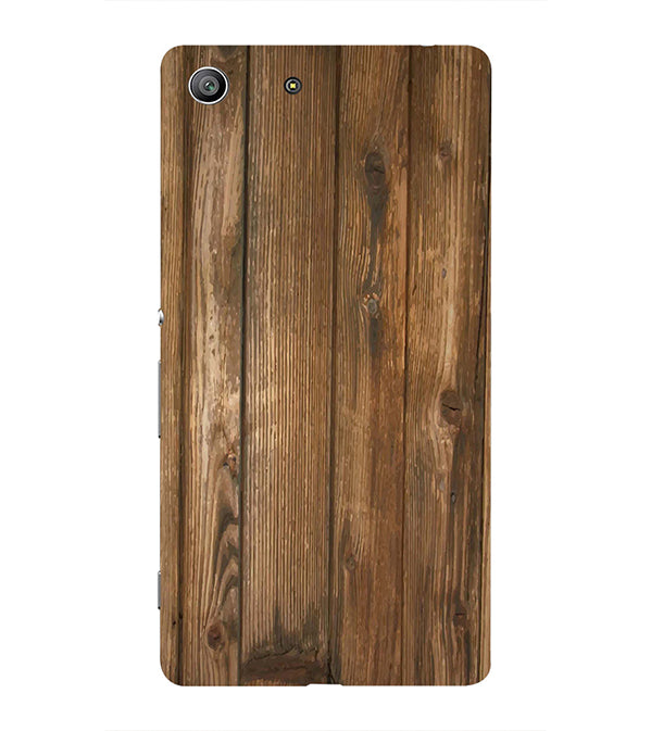 Wooden Pattern Back Cover for Sony Xperia Z3 Compact