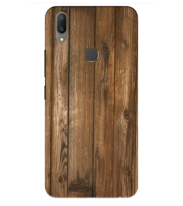 Wooden Pattern Back Cover for Vivo Y85