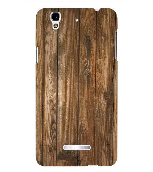 Wooden Pattern Back Cover for Yu Yureka Plus