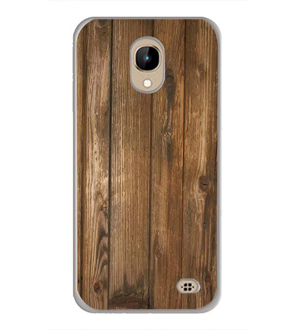 Wooden Pattern Back Cover for InFocus A2