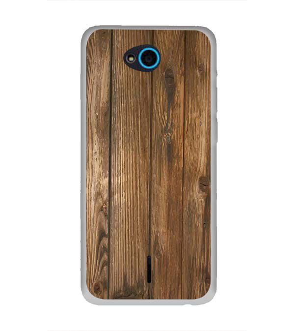Wooden Pattern Back Cover for InFocus Bingo 21