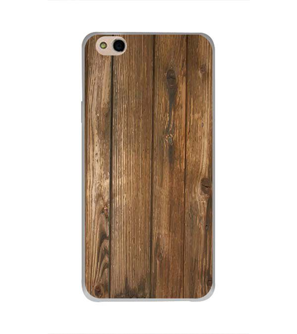 Wooden Pattern Back Cover for InFocus Bingo 50 Plus