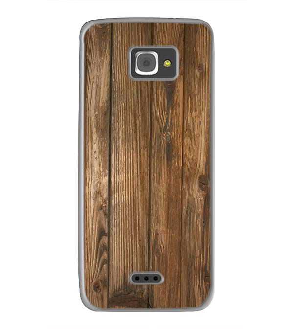 Wooden Pattern Back Cover for InFocus M350