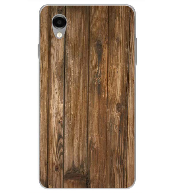 Wooden Pattern Back Cover for ITEL PWO Pro