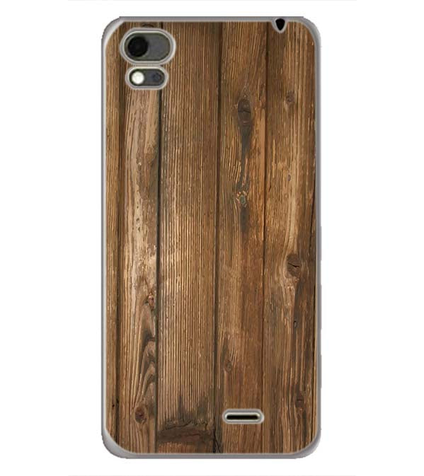 Wooden Pattern Back Cover for Karbonn Aura Note 4G
