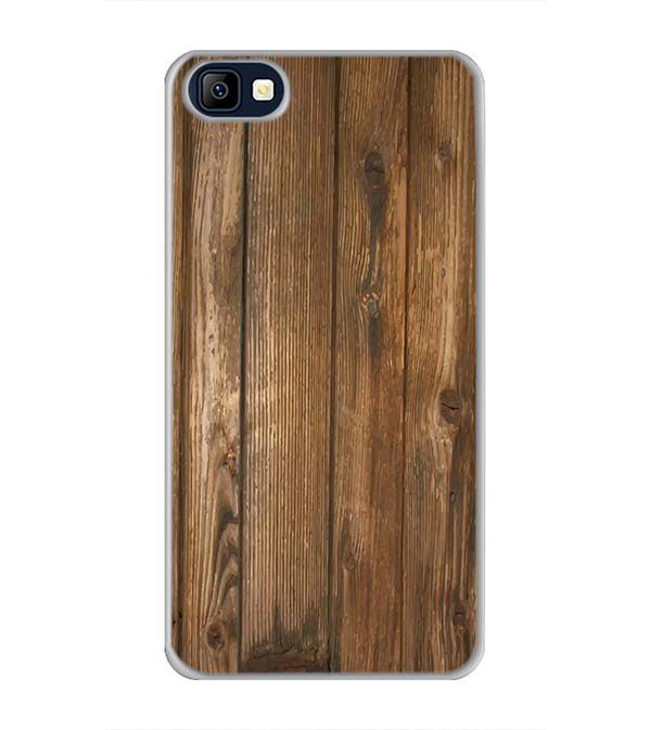 Wooden Pattern Back Cover for Karbonn K9 Smart Selfie