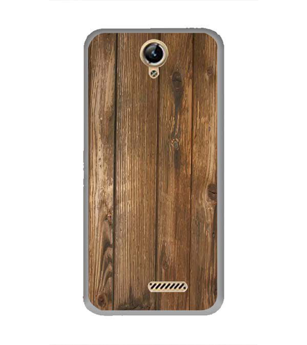 Wooden Pattern Back Cover for Lephone W10