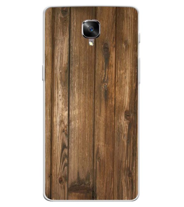 official photos 6bb5d 9e3b2 Wooden Pattern Soft Silicone Back Cover for OnePlus 3 and OnePlus 3T