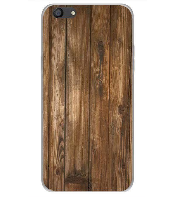 Wooden Pattern Back Cover for Oppo A77