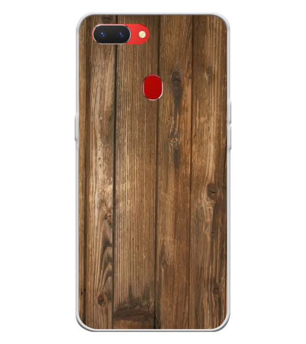 Wooden Pattern Back Cover for Oppo Realme 2-Image3