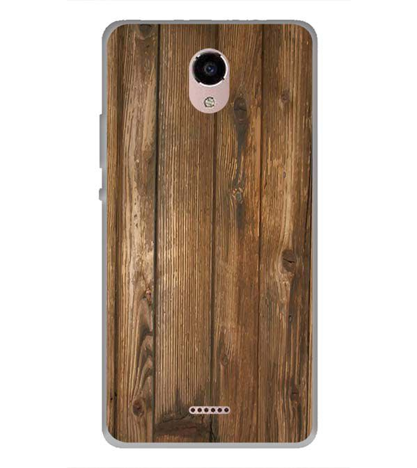 Wooden Pattern Back Cover for Panasonic Eluga RayX