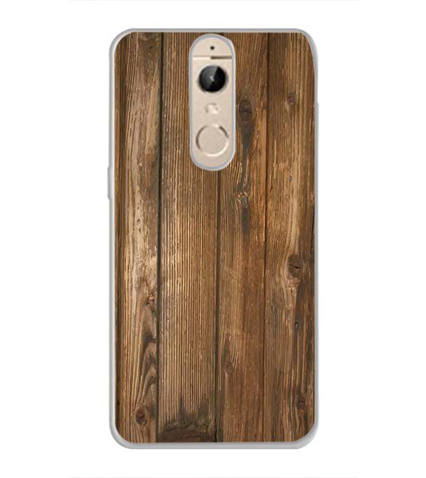 Wooden Pattern Back Cover for Panasonic Elugaa I9