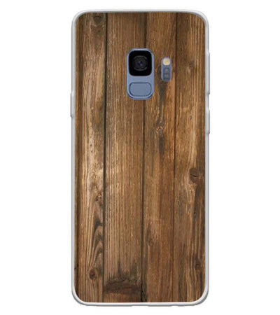 Wooden Pattern Back Cover for Samsung Galaxy S9-Image3