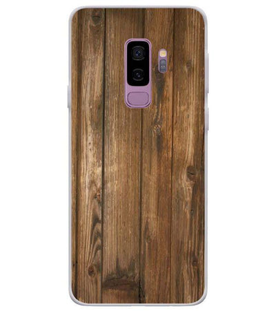 Wooden Pattern Back Cover for Samsung Galaxy S9+ (Plus)-Image3