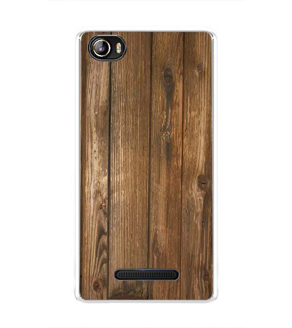 Wooden Pattern Back Cover for Sansui Horizon 1