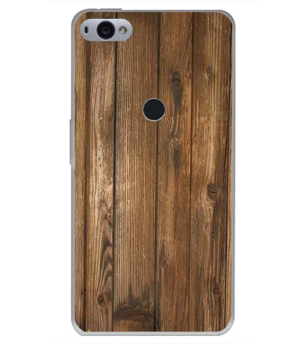 Wooden Pattern Back Cover for Smartron SRT Phone