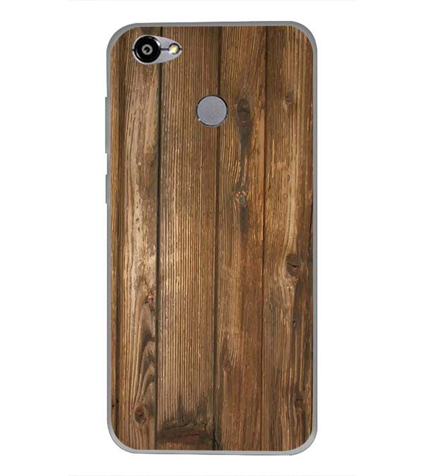 Wooden Pattern Back Cover for Smartron TPhone (P)