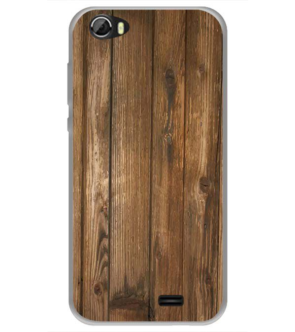 Wooden Pattern Back Cover for Videocon Krypton 22 Plus