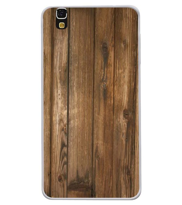 Wooden Pattern Soft Silicone Back Cover for Yu Yureka 5510