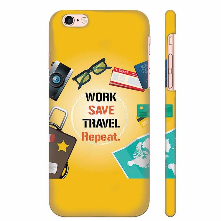 Travel Lover Collection Back Cover for Apple iPhone 6 Plus and iPhone 6S Plus