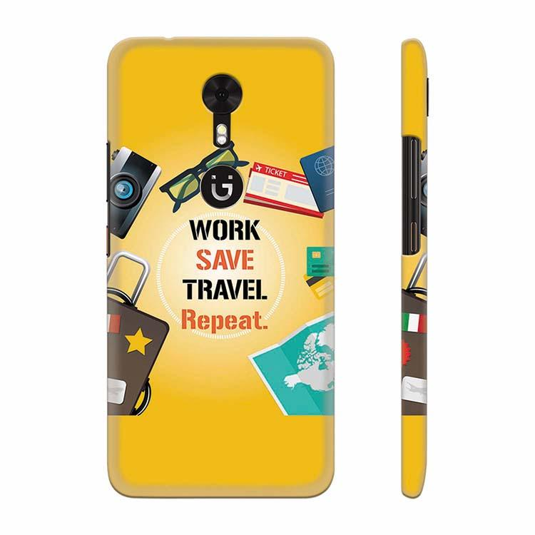 Travel Lover Collection Back Cover for Gionee A1